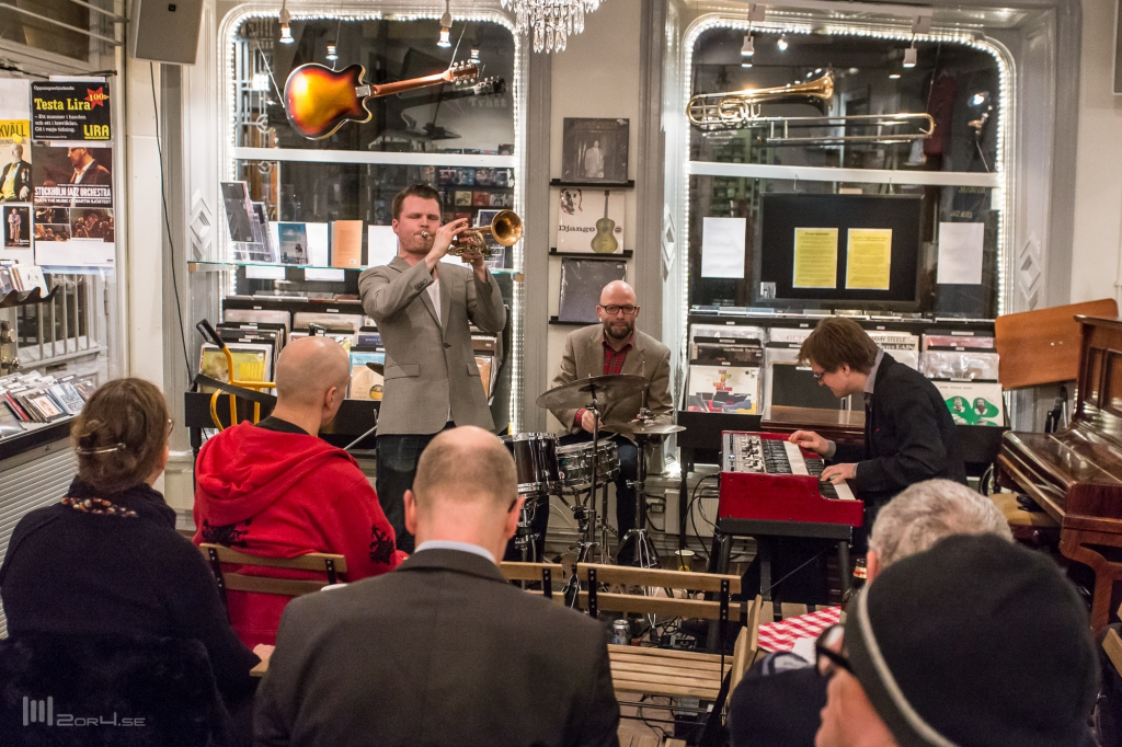 2014-03-12 Plugged records, Stockholm